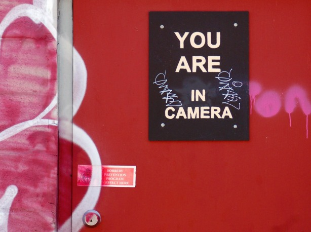 You are in camera, but with the wrong preposition