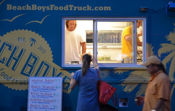 Beach Boys food truck