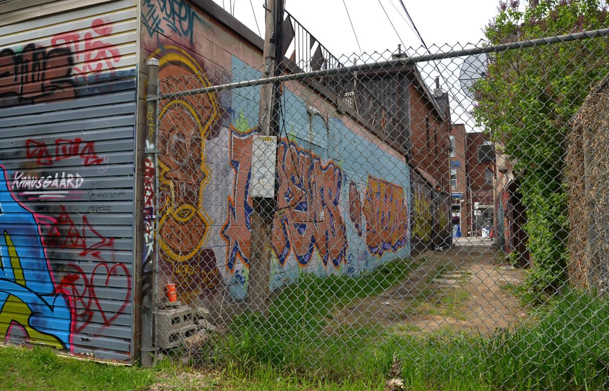 Chainlink Fence As I Walk Toronto