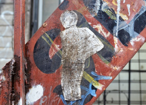 little people graffiti, sticker