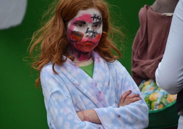 zombie from Toronto zombie walk