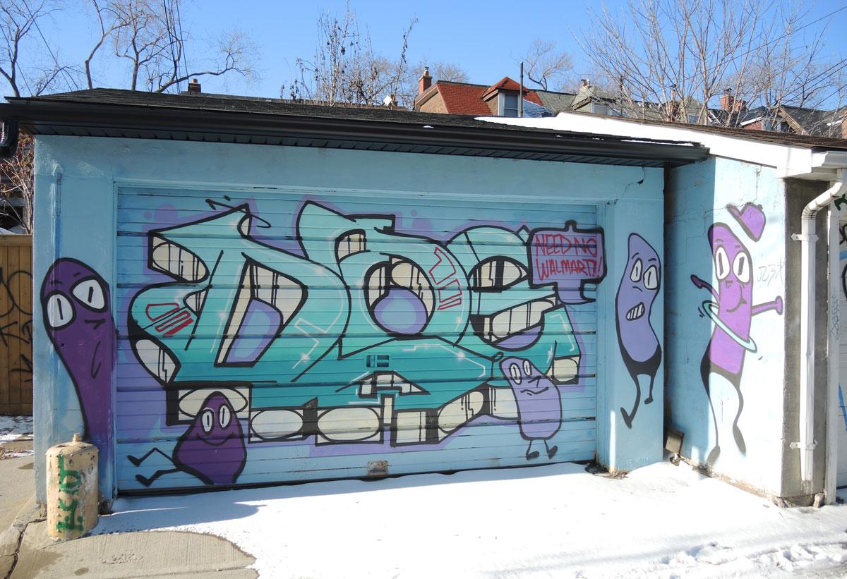 walmart painted post