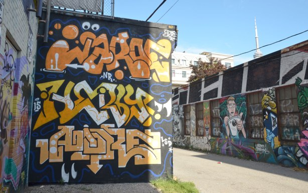 Graffiti Alley -