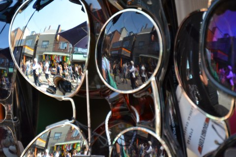 sunglasses and their reflections of Kensington