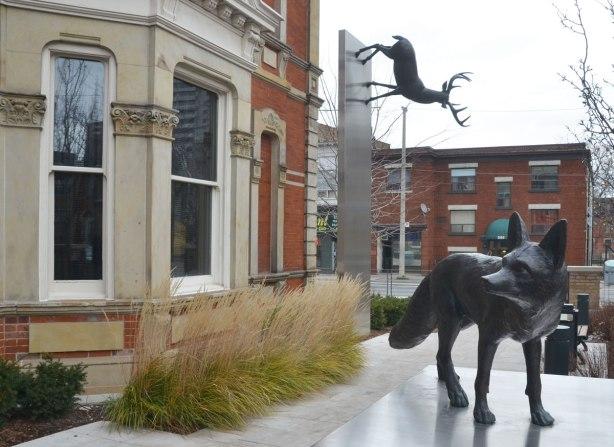 part of an art installation by Eldon Garnet called inversion -