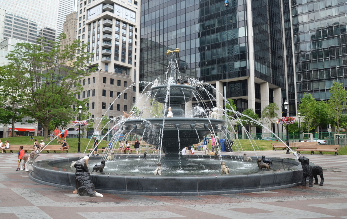 Berczy Park Dog Fountain