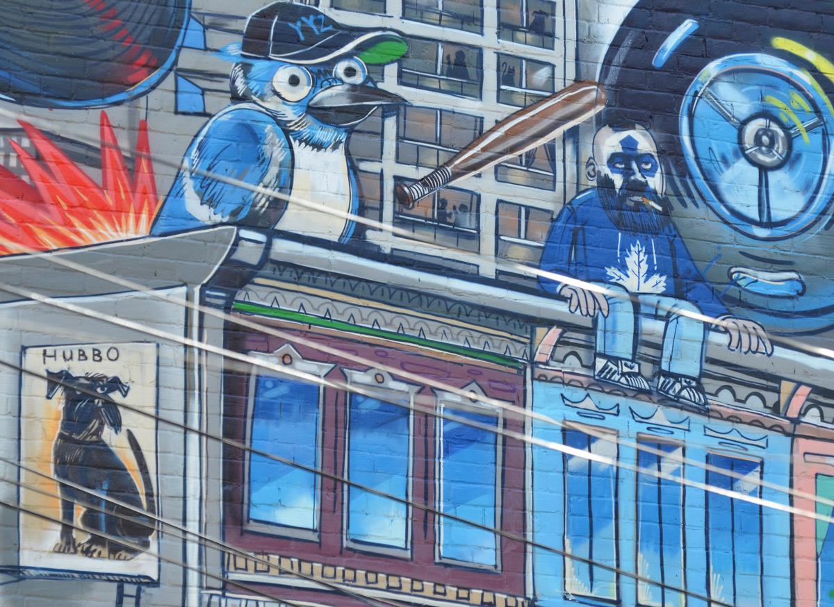 Yyz Mural Uber 5000 As I Walk Toronto