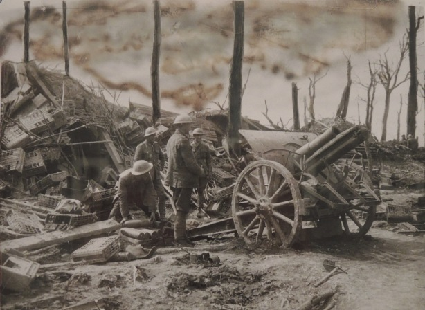 vintage world war one photo