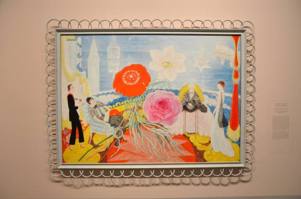 painting by Florine Stettheimer on display at the Art Gallery of Ontario