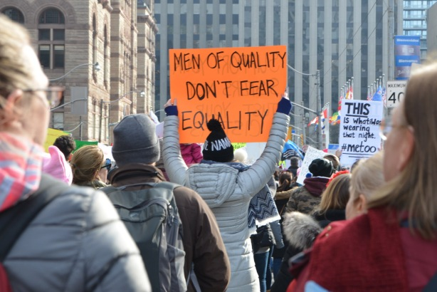 men of quality don't fear equality.
