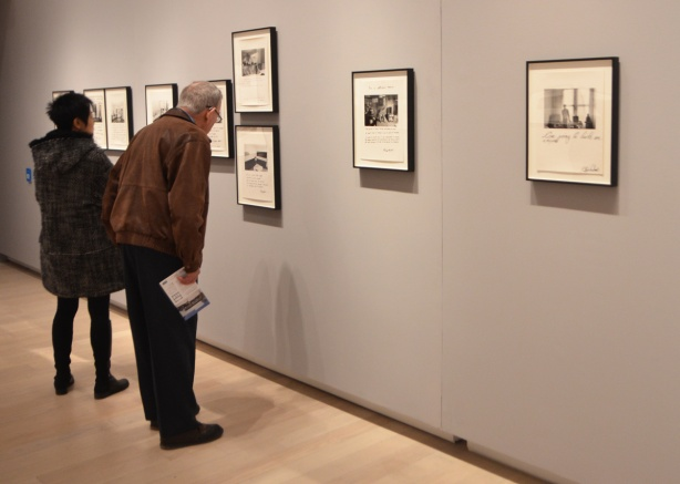 "Ryerson Image Centre (RIC) gallery, Jim Goldberg portraits ""Rich and Poor' exhibition of black and white portraits in San Francisco in the 1980s"