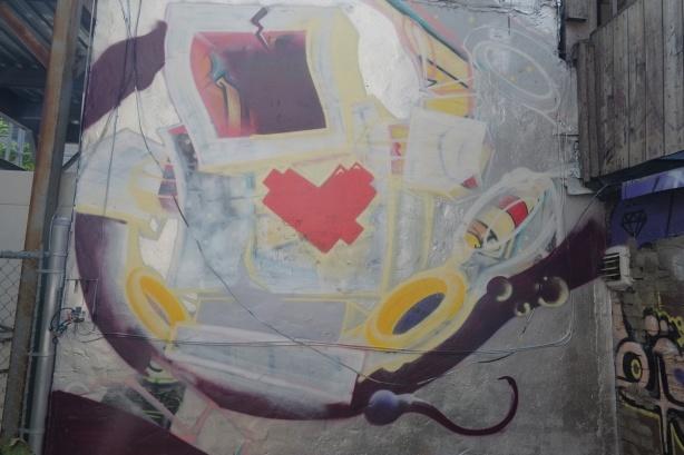 lovebot street art