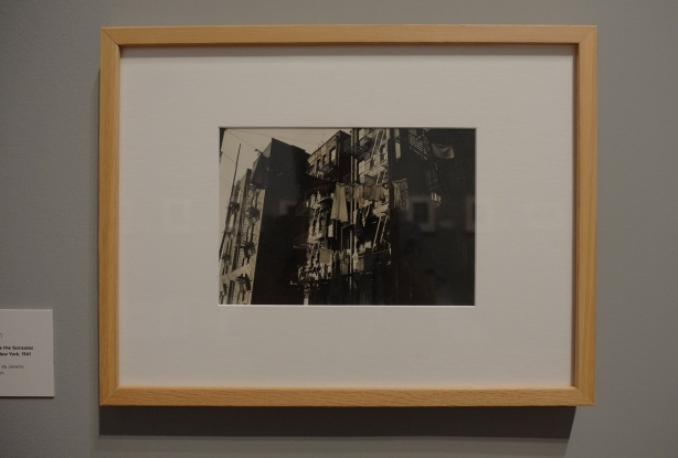 Gonzalez building, tenement slums of New York (Manhattan), black and white phot by Brazilian photographer, Henri Billot