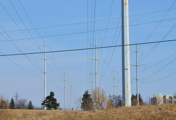 hydro poles, utility poles, electricity, and wires