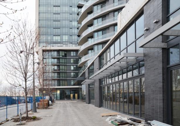 new condo development by the lake
