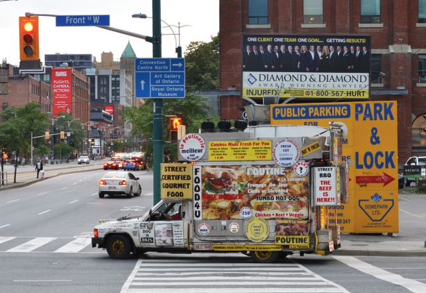 a food truck