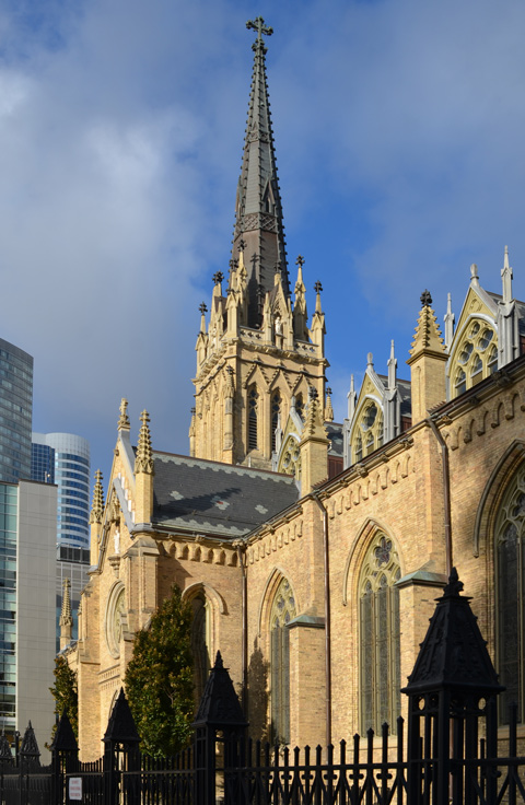 steeple of St. Michaels cathedral
