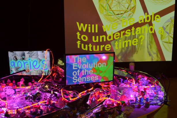 will we understand future time, video art with some other bits and pieces, Harbourfront Artport gallery