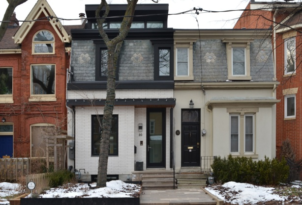 semi divided houses
