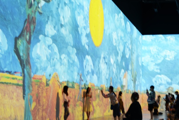 Vincent Van Gogh Immersive exhibit
