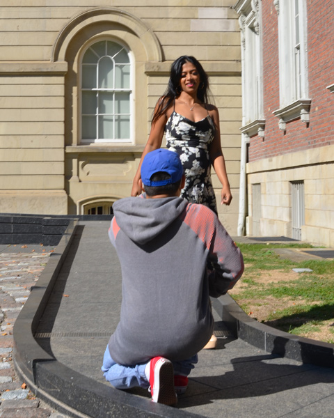 instagram photoshoot at Osgoode Hall
