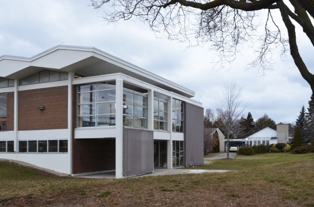 part of Don Mills library, built in the late 1950s