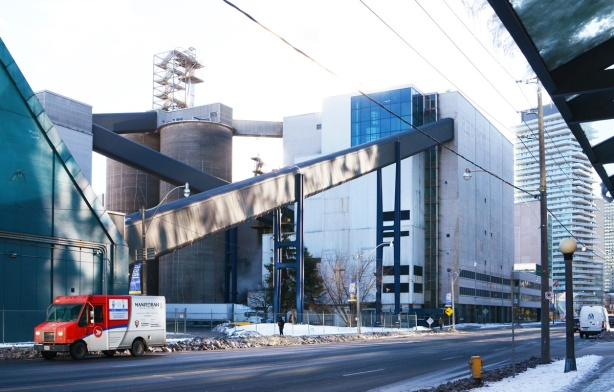 redpath sugar processing plant on Queens Quay in Toronto