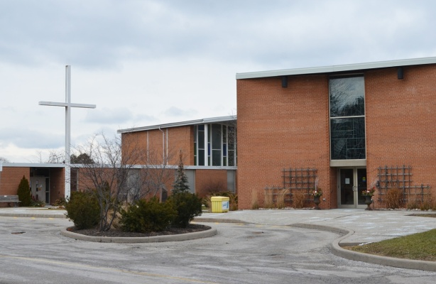 front of Don Mills United Church
