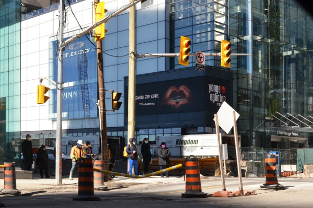 intersection of Yonge and Eglinton