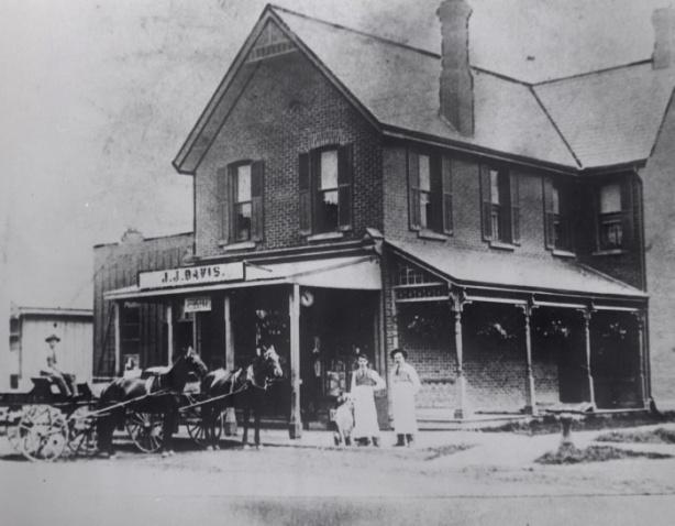 J.J. Davis Store, about 1900