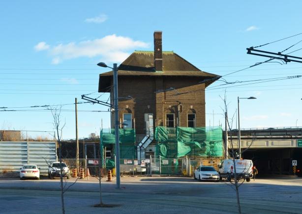 Cherry street railway building