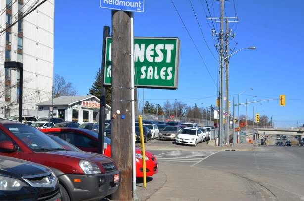 honest used car sales at the corner of Reidmont and Sheppard