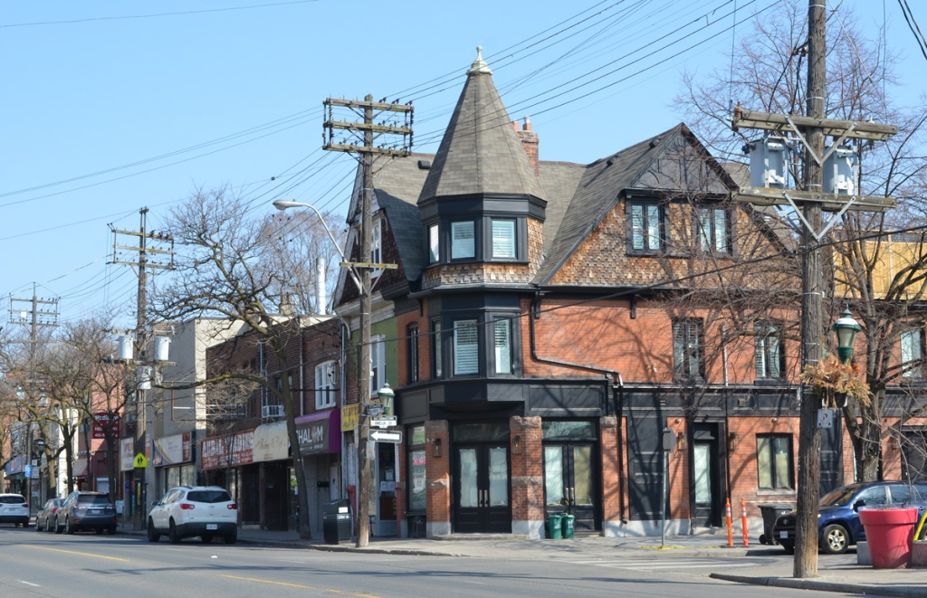 northeast corner of parliament and amelia streets
