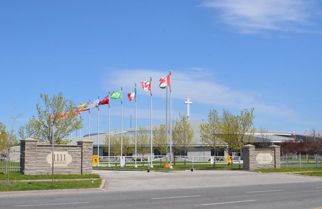 exterior of Prayer Palace
