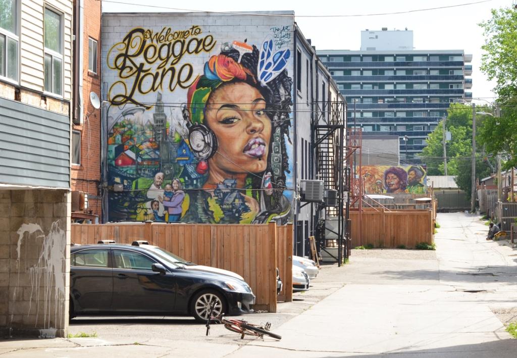 murals on reggae lane