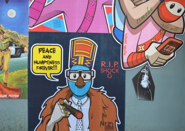 peace and humpiness R I P in memory of shock G